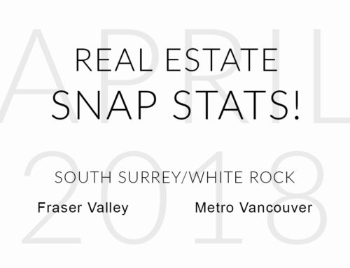 APRIL REAL ESTATE SNAP STATS