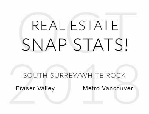 OCTOBER 2018 REAL ESTATE SNAP STATS