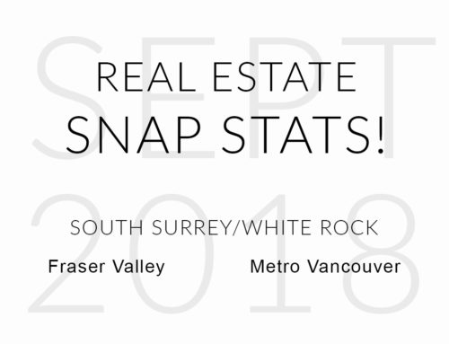 SEPTEMBER 2018 REAL ESTATE SNAP STATS