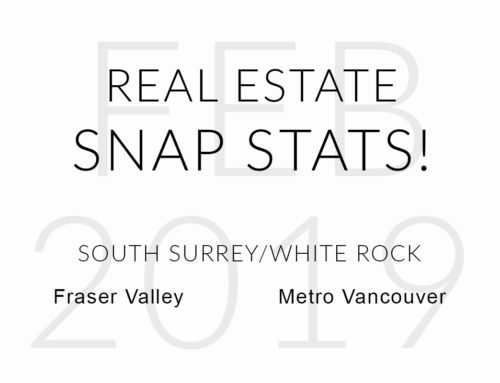 FEBRUARY 2019 REAL ESTATE SNAP