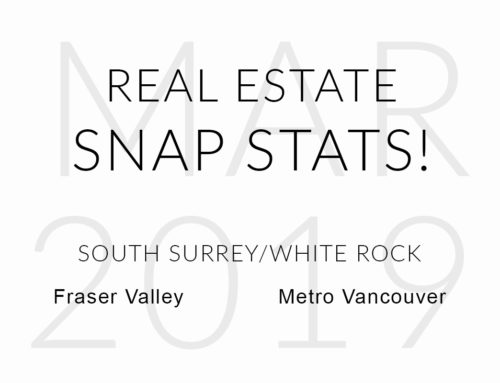 MARCH 2019 REAL ESTATE SNAP STATS