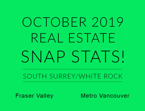 OCTOBER REAL ESTATE SNAP STATS