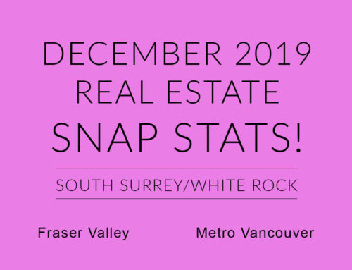 DECEMBER REAL ESTATE SNAP STATS