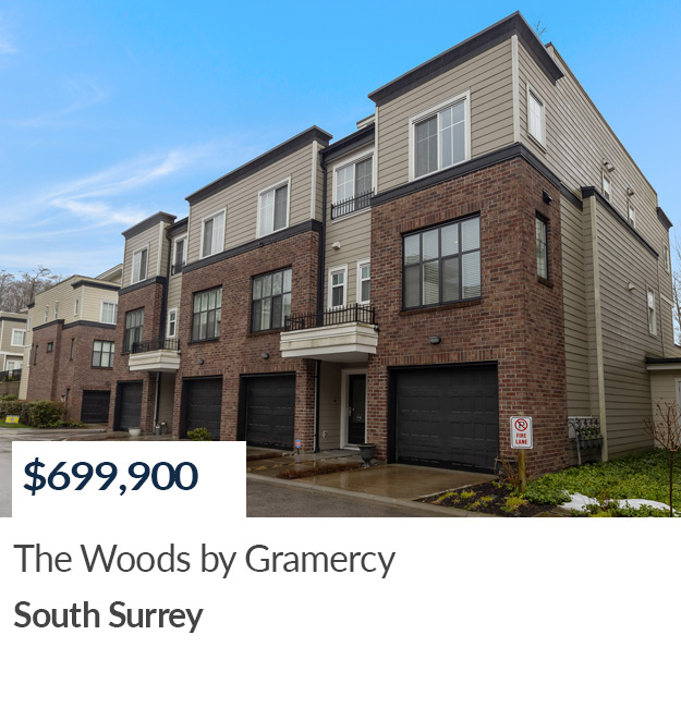 South Surrey Townhouse Sold by Sandra Miller and Philip DuMoulin