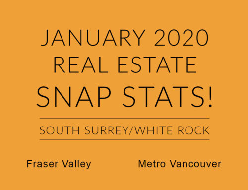 JANUARY REAL ESTATE SNAP STATS