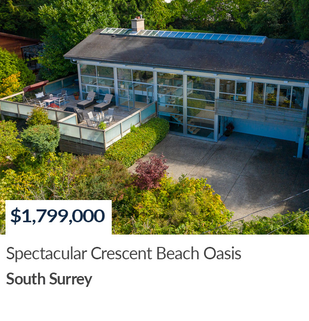 Real Estate SOLD in Crescent Beach
