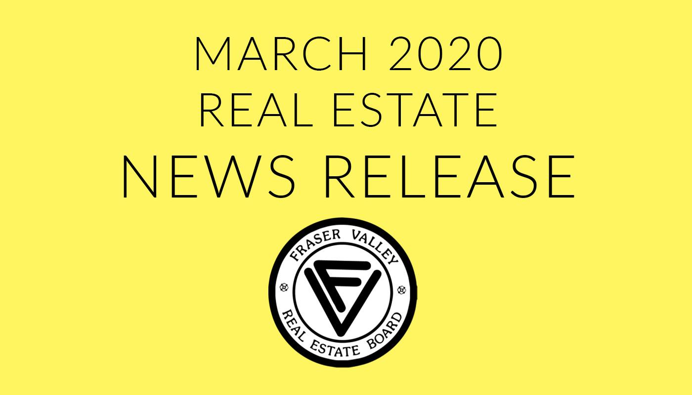 Fraser Valley News Release 02 April 2020