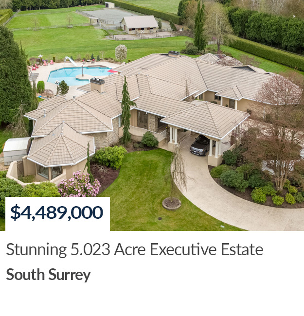 LUXURY HOME SOLD IN SOUTH SURREY