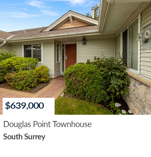 SOLD - townhouse in Douglas Point