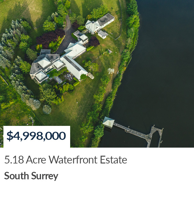 SOLD - Waterfront South Surrey