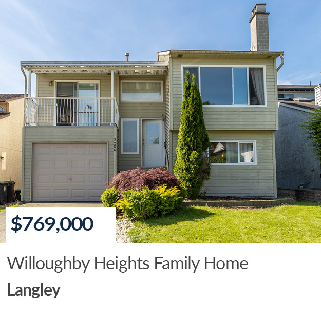 SOLD in Willoughby Heights, Langley
