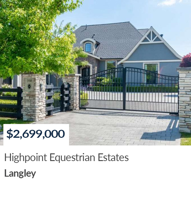 SOLD 350 198 Street - Highpoint Equestrian Estates