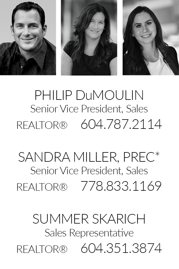 Realtors Philip DuMoulin Sandra Miller Summer Skarich