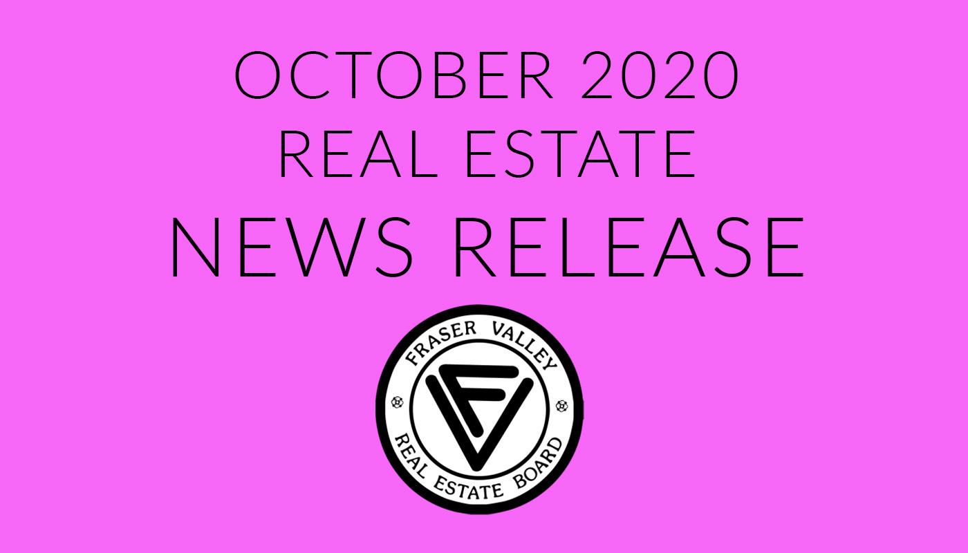 FVREB News Release November 2020