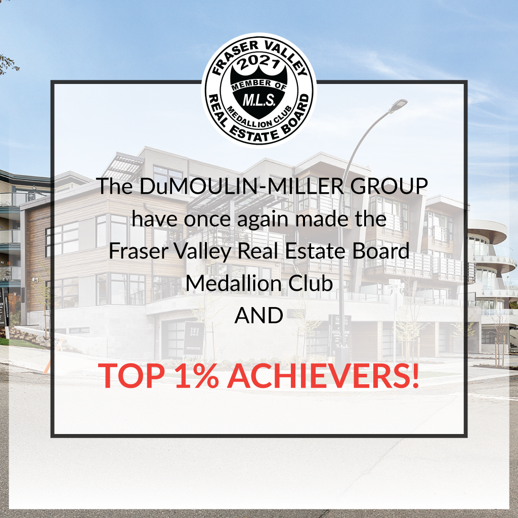 DuMoulin Miller Group FVREB Top 1% ACHIEVERS