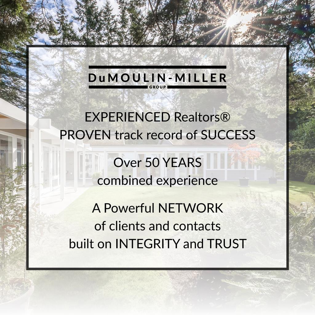DuMoulin-Miller Group experience South Surrey White Rock Realtors