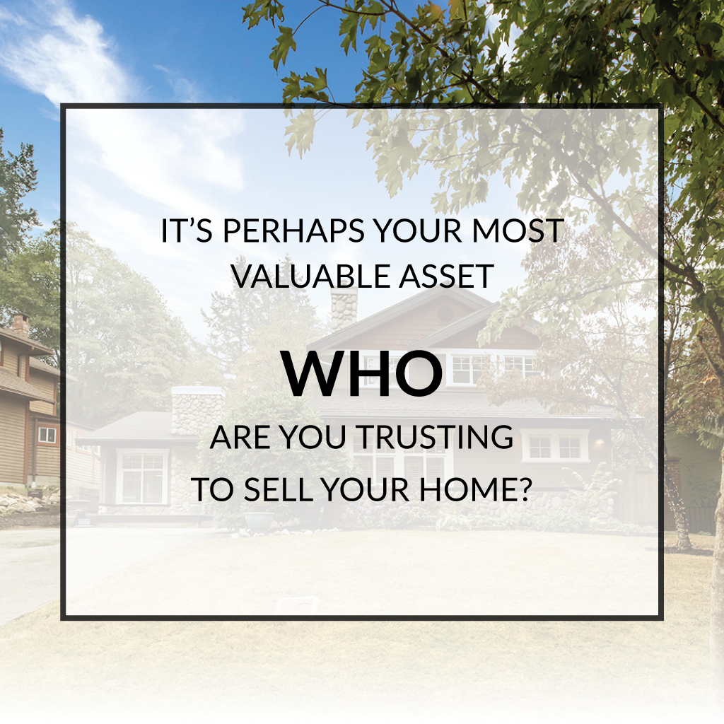 Who are you TRUSTING to sell your home DuMoulin-Miller Group