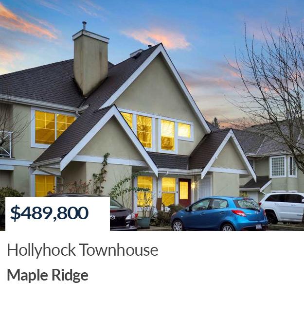Sold Townhouse Maple Ridge Realtor Summer Skarich
