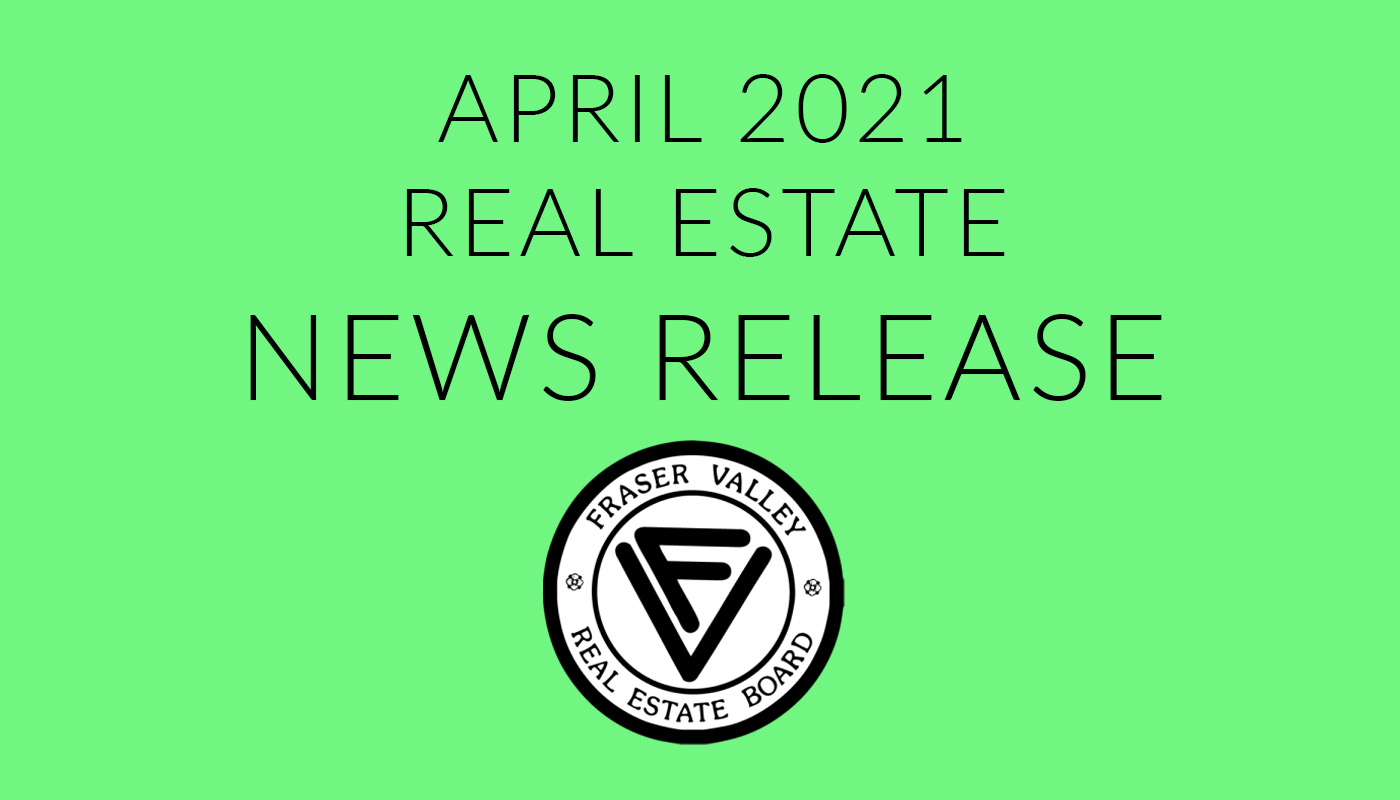 FVREB News Release April 2021