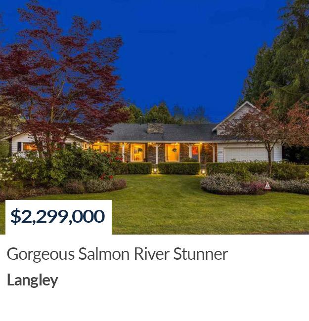 SOLD Salmon River Langley Realtor Summer Skarich