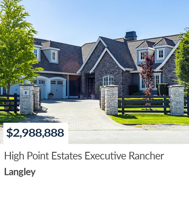 SOLD 19915 1 Avenue Langley High Point Estates Realtor Summer Skarich