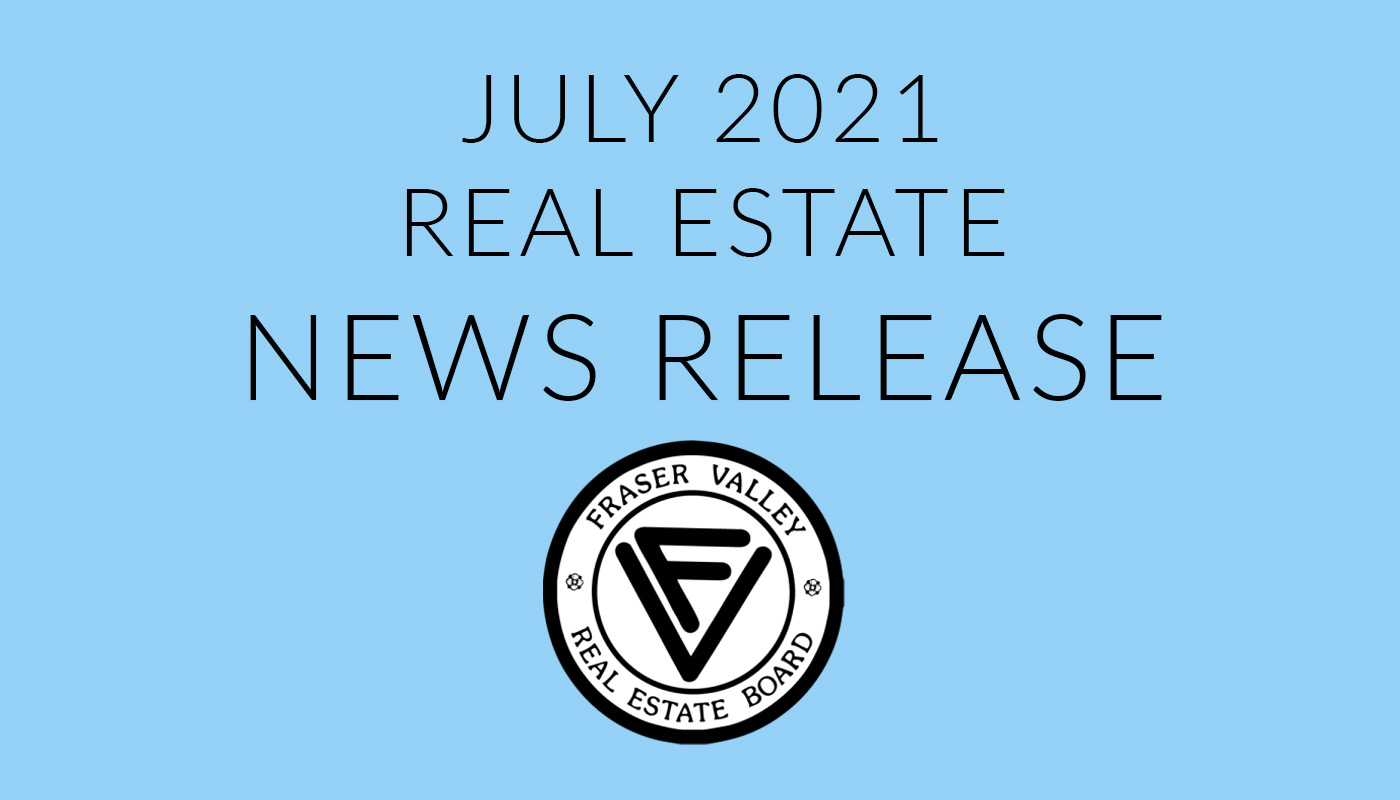 FVREB Real Estate News Release