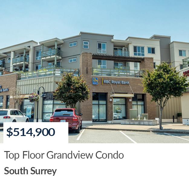 SOLD Grandview Condo South Surrey Realtor Sandra Miller